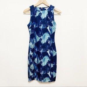 2/$20 H&M Blue Patterned Dress